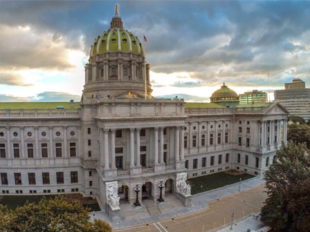 Tours Of The Capitol Building In Harrisburg Pa